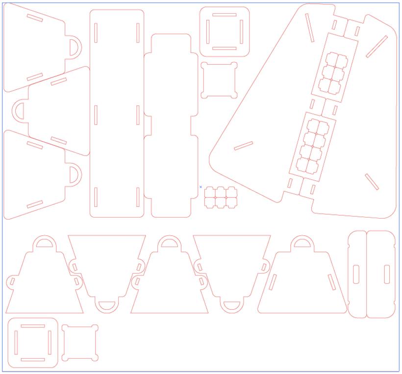 DIY Cardboard Light Studio Kit 10