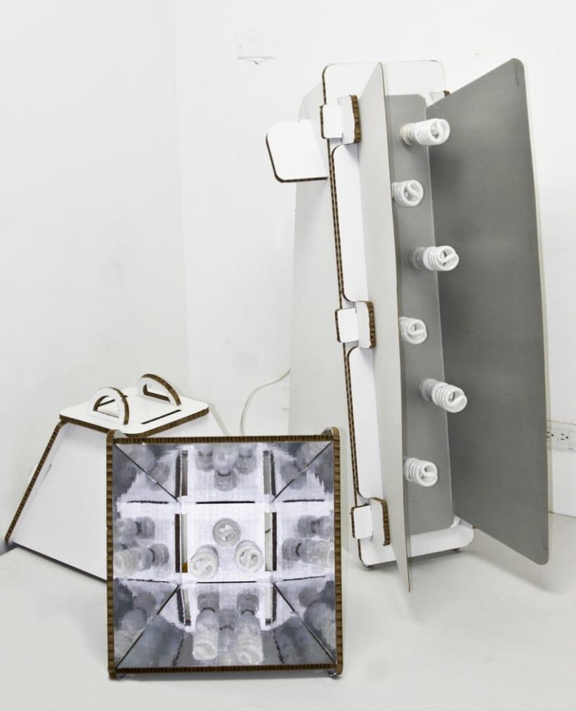 DIY Cardboard Light Studio Kit 9