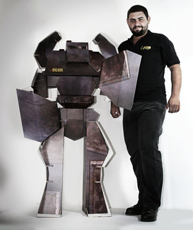 Robot de Carton 4