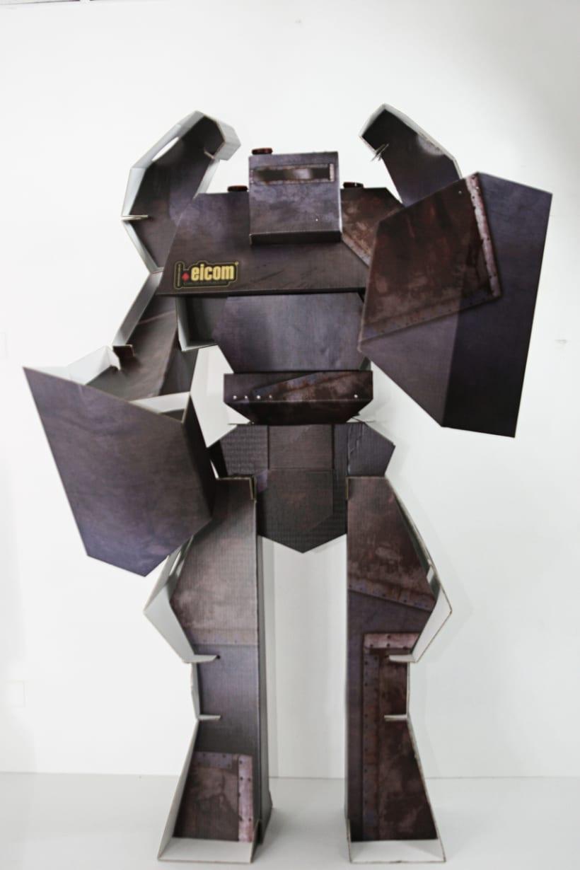 Robot de Carton 1