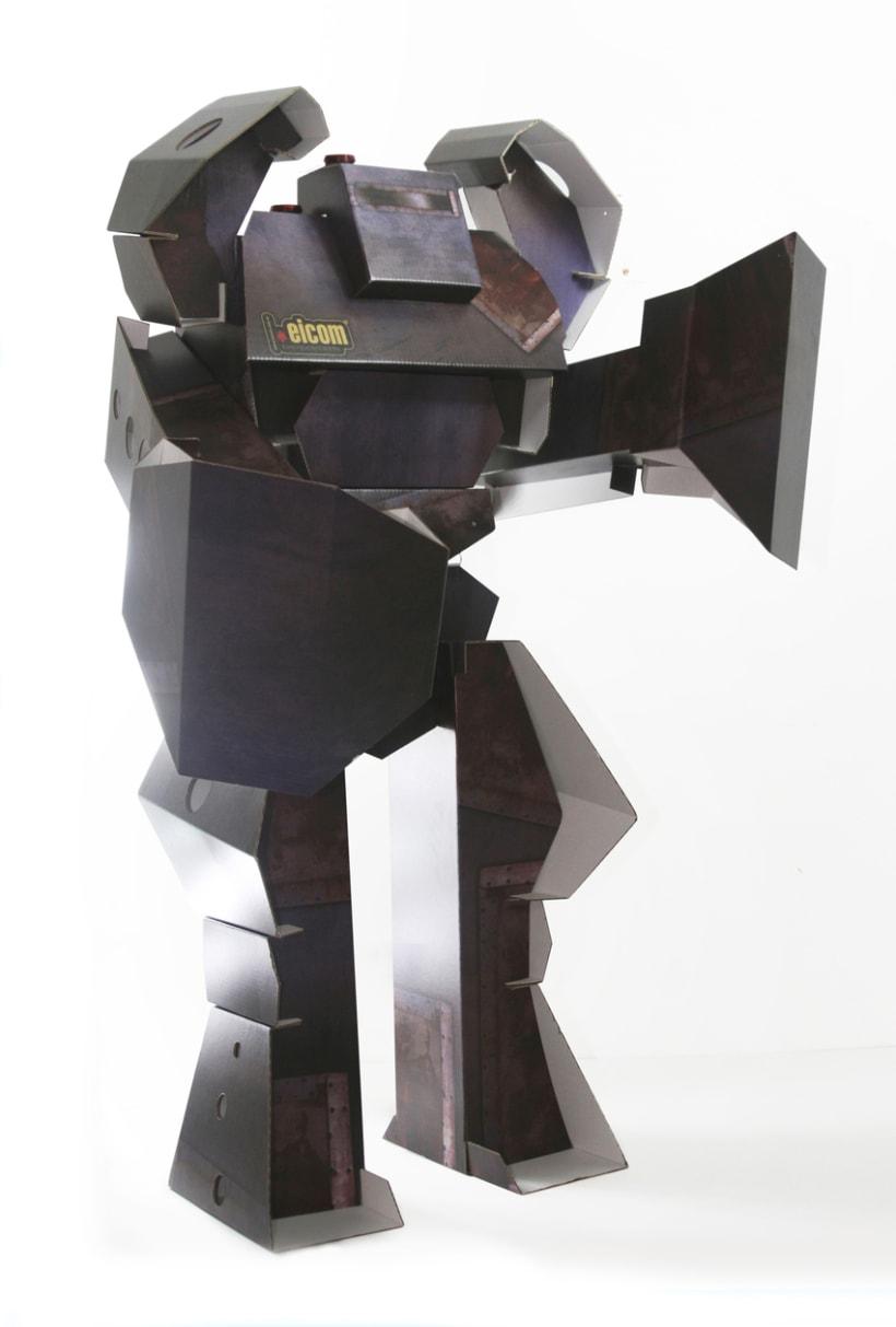 Robot de Carton 2
