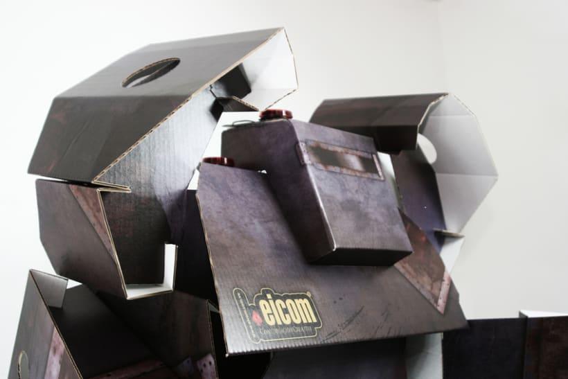 Robot de Carton 0