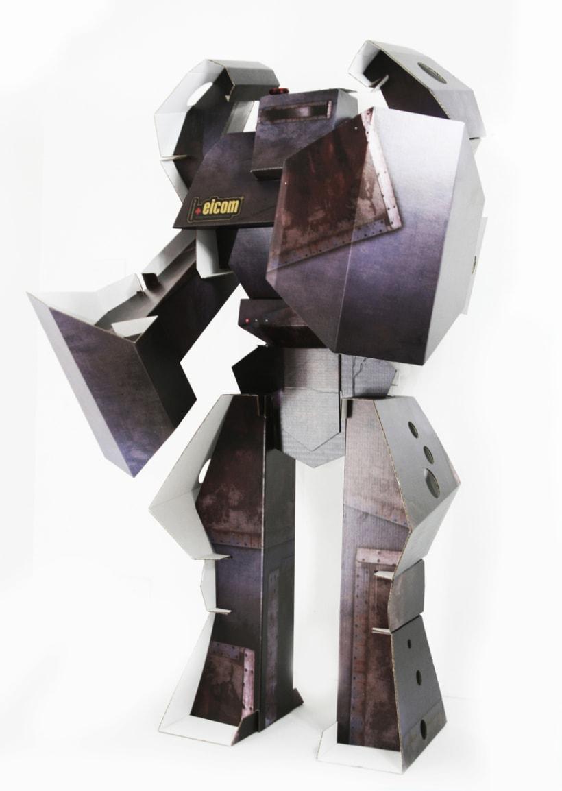 Robot de Carton 3