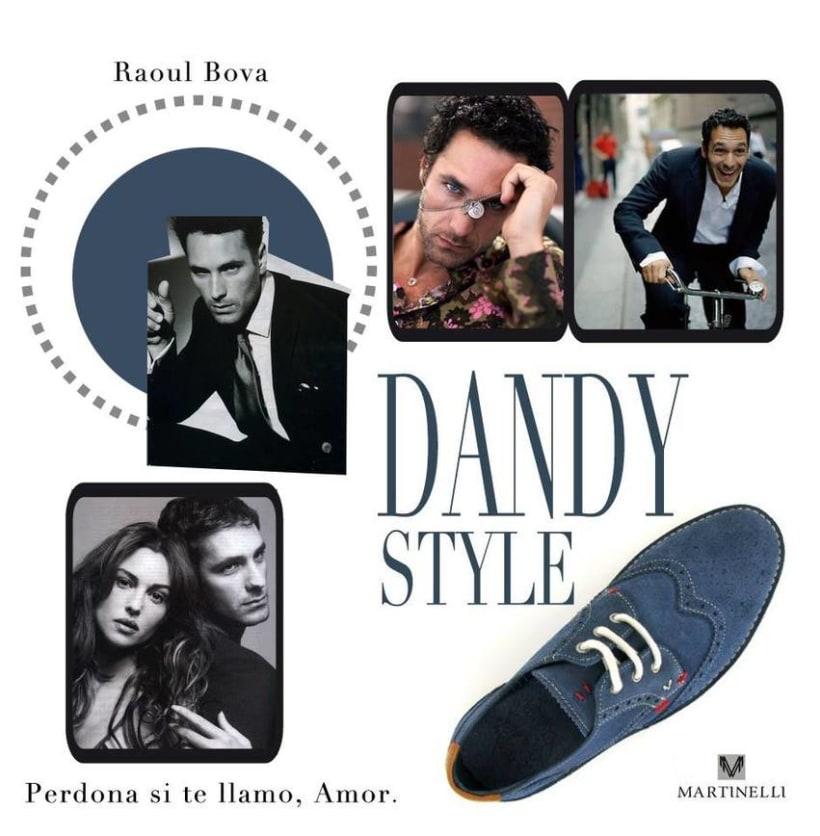 Una película un Dandy y un zapato. 14
