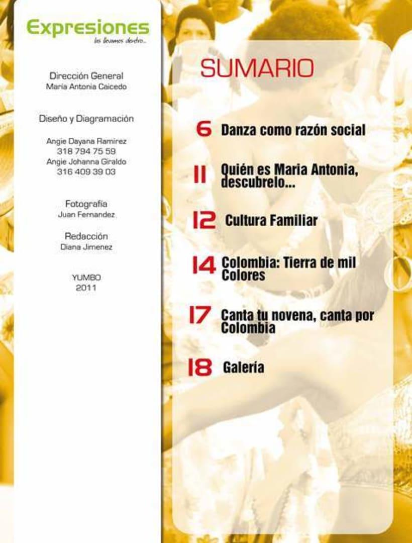 Editorial Revista Expresiones 5