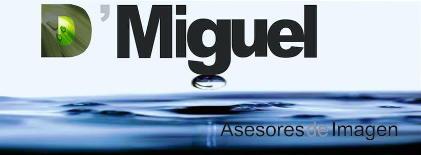 Diseño de logotipo para D´Miguel Asesores de Imagen -1