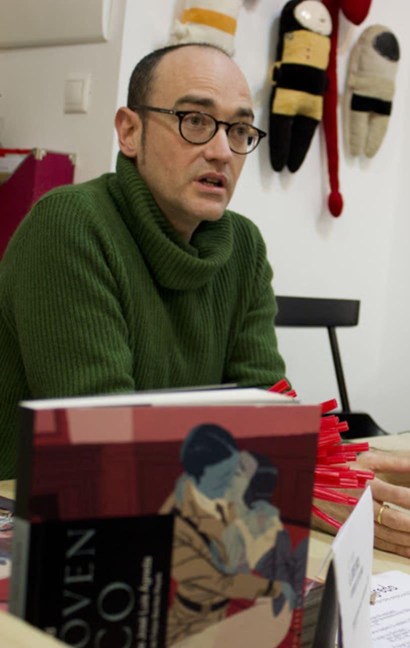 José Luis Ágreda en Tetera y Kiwi 2