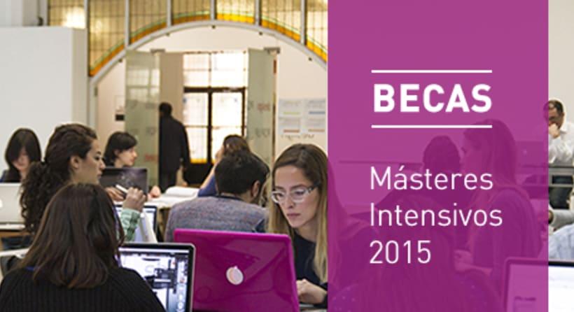 BECAS para los másteres intensivos del IED Madrid 2015 1