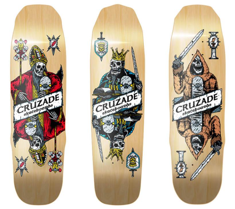 Cruzade Skateboards - Deck Designs 0