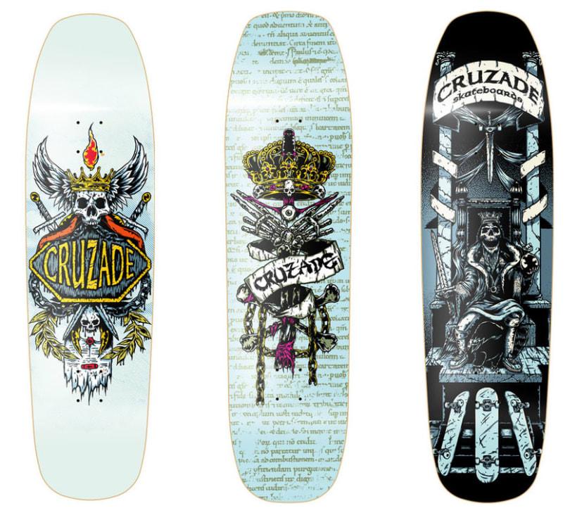 Cruzade Skateboards - Deck Designs 1