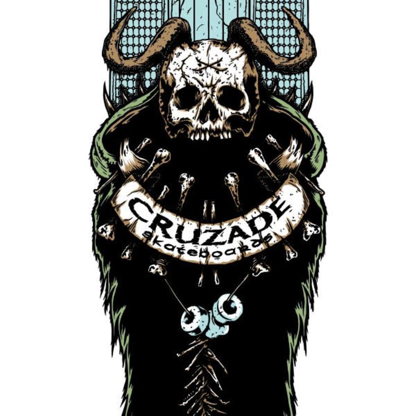 Cruzade Skateboards - Deck Designs 7