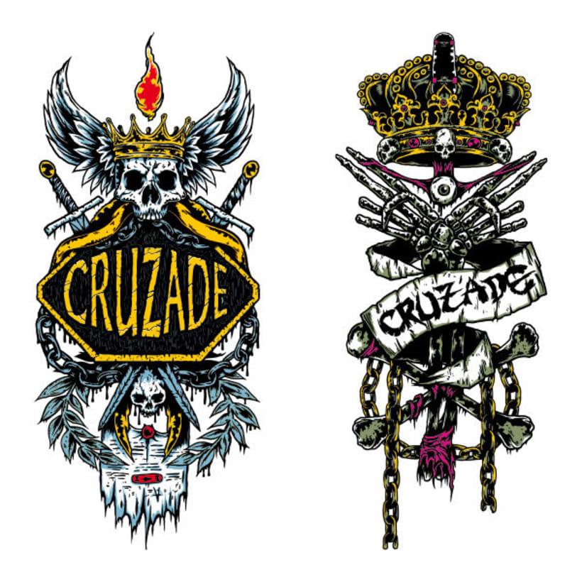Cruzade Skateboards - Deck Designs 6
