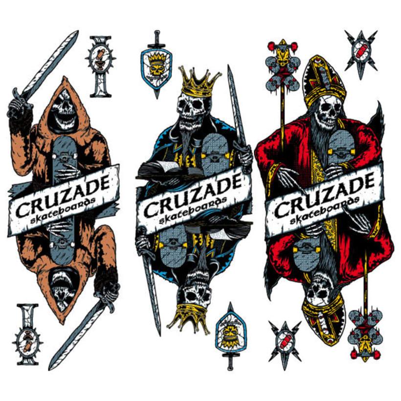 Cruzade Skateboards - Deck Designs 5