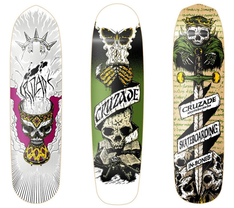 Cruzade Skateboards - Deck Designs 2