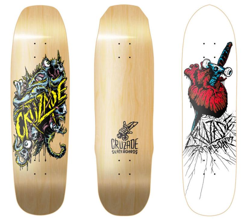 Cruzade Skateboards - Deck Designs 4