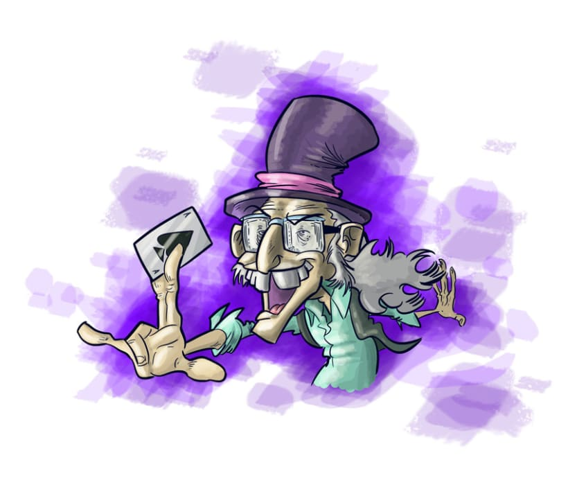 Caricatura Juan Tamariz -1