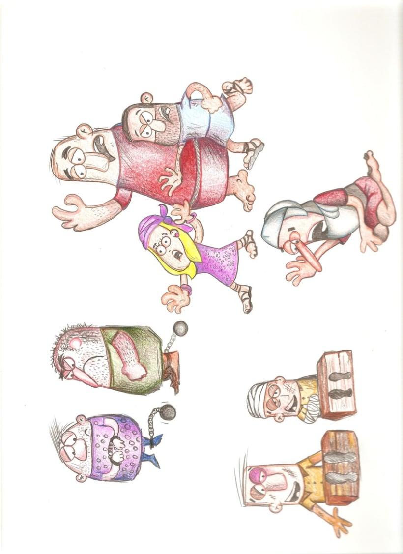 Ilustración Infantil, material educativo 4