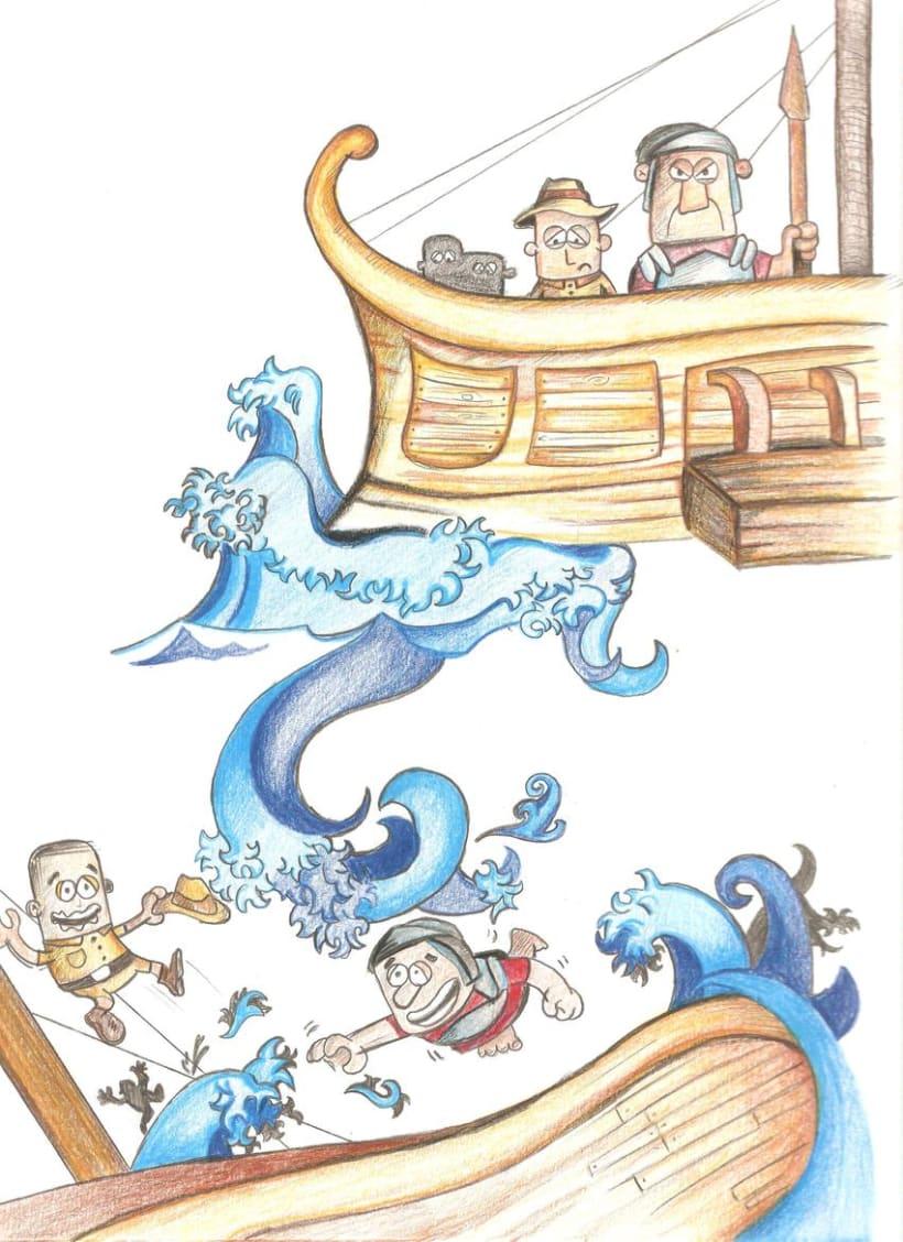 Ilustración Infantil, material educativo 5