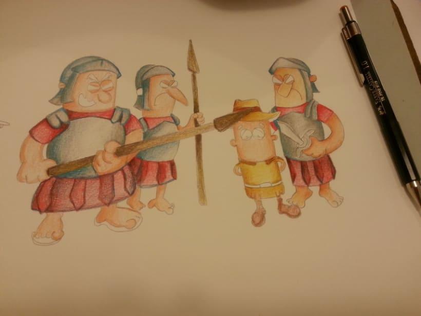 Ilustración Infantil, material educativo 6