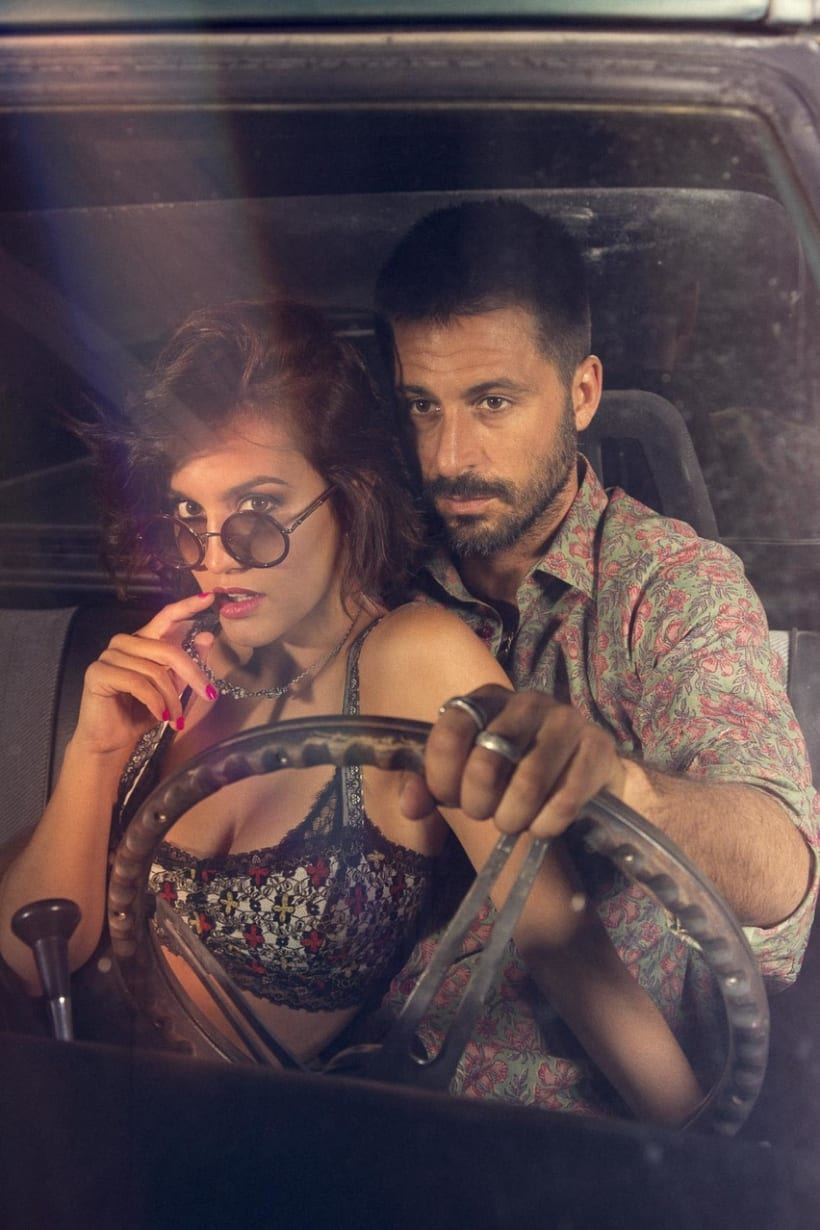 Hugo Silva & Megan Montaner para VIS-À-VIS 6