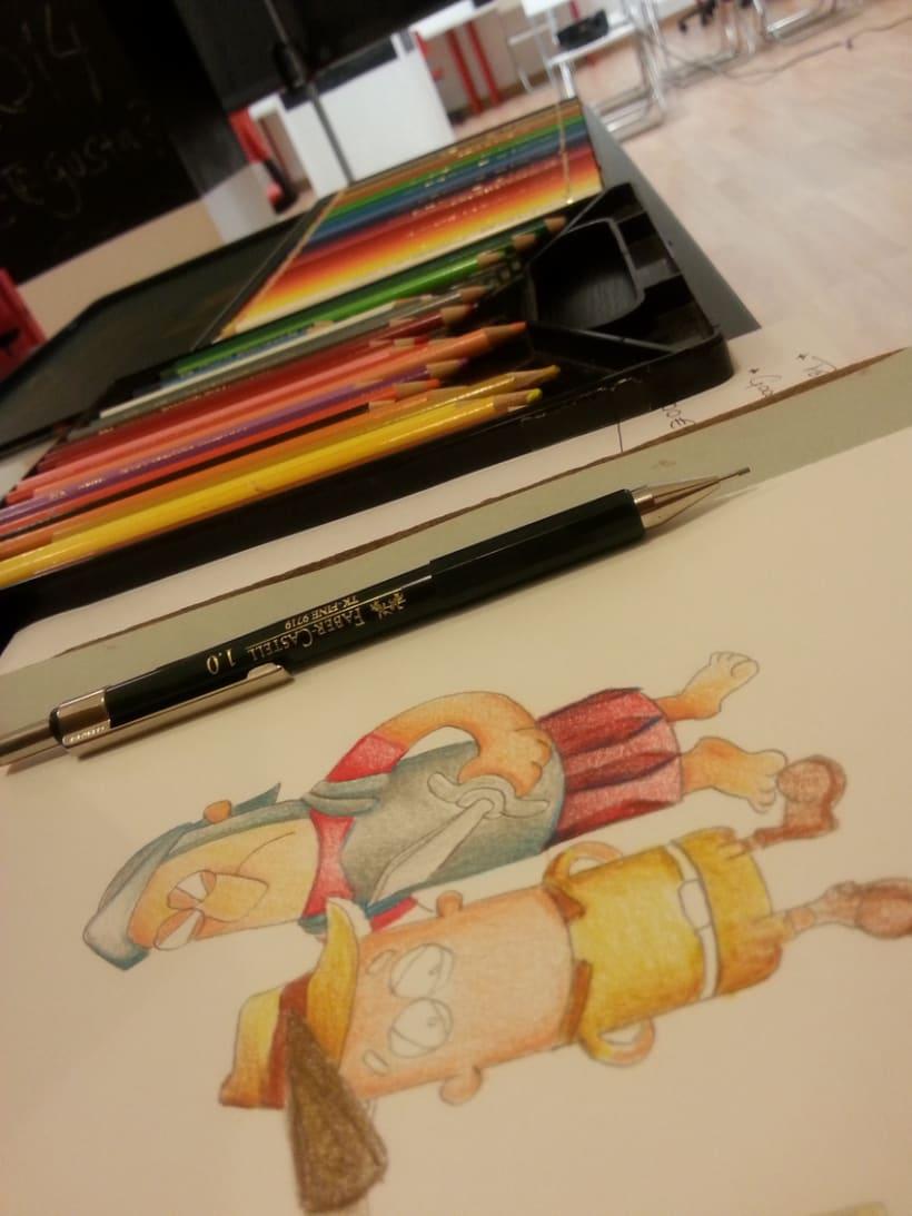 Ilustración Infantil, material educativo 7