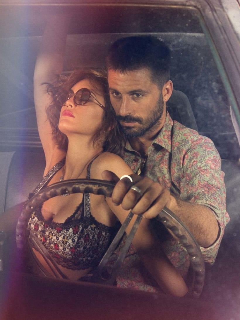 Hugo Silva & Megan Montaner para VIS-À-VIS 7