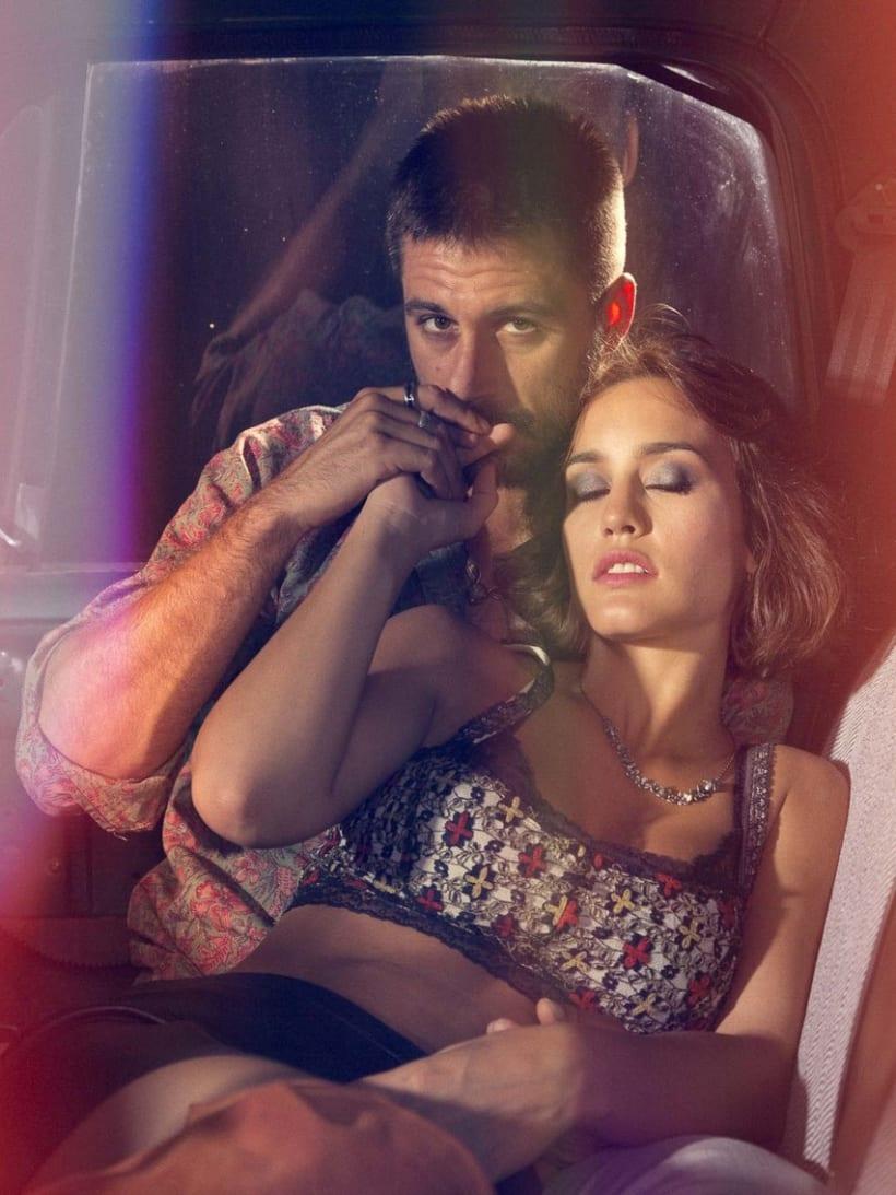 Hugo Silva & Megan Montaner para VIS-À-VIS 9