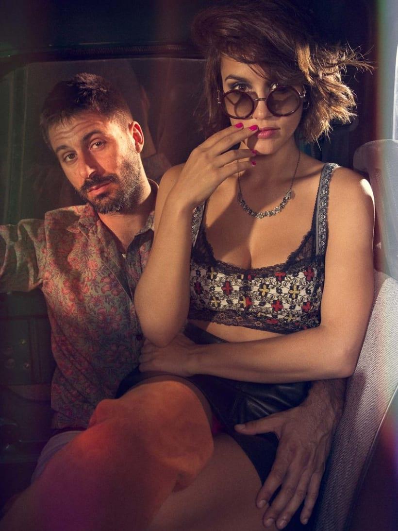Hugo Silva & Megan Montaner para VIS-À-VIS 12