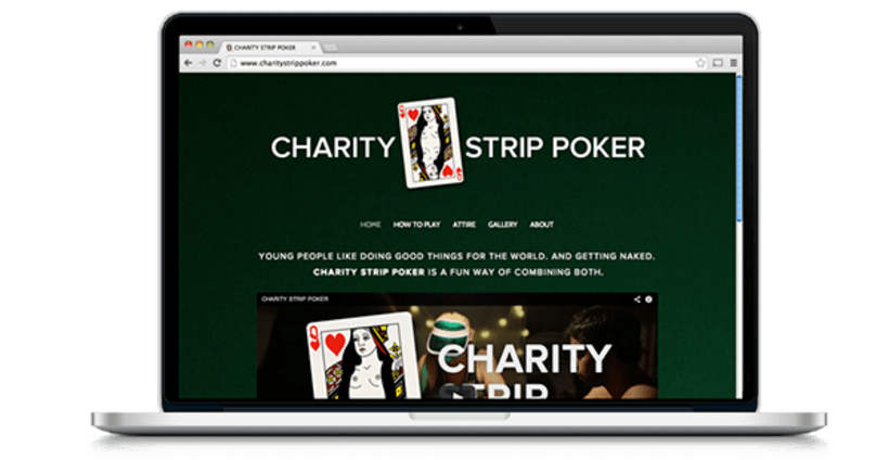 Charity Strip Poker 3