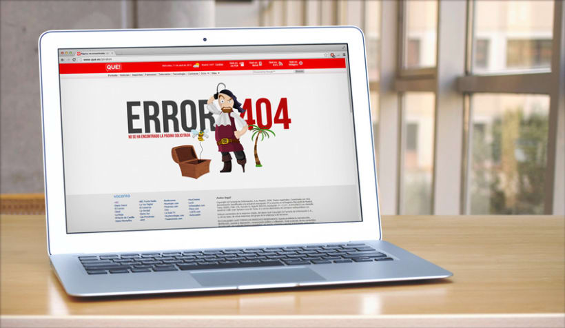 Diario Qué! · Error 404 0