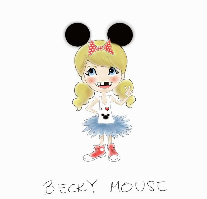 BECKY MOUSE but now more kawaii... -1