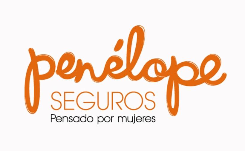 Penélope Seguros Branding 1