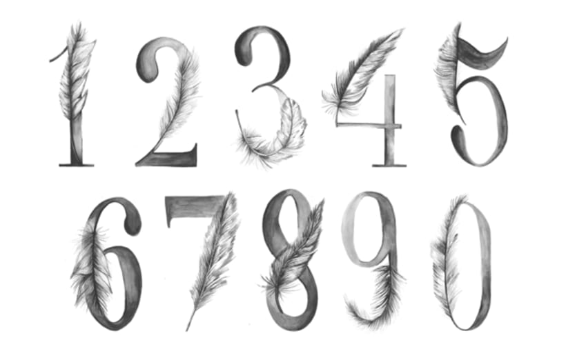 ABCs, Numbers, Words, Typography 1