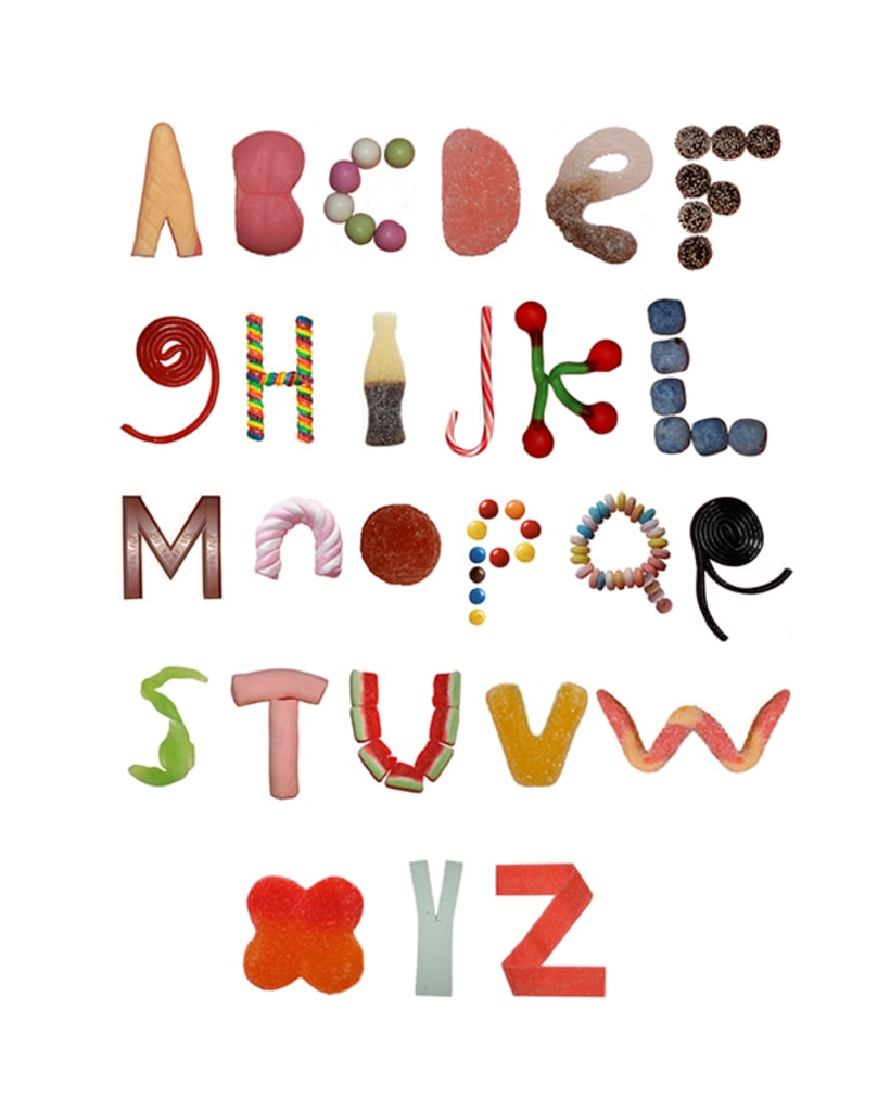 ABCs, Numbers, Words, Typography 4
