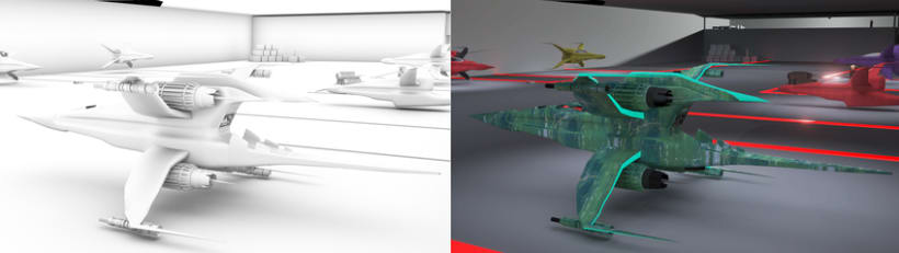 Naves 3Ds Max 3