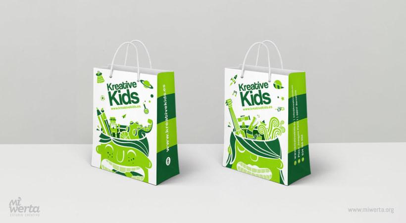 KREATIVE KIDS · Bolsas corporativas 1