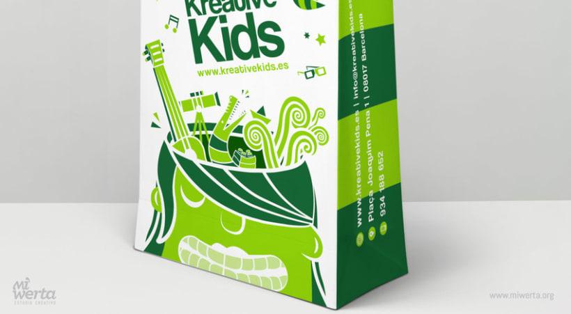 KREATIVE KIDS · Bolsas corporativas 3