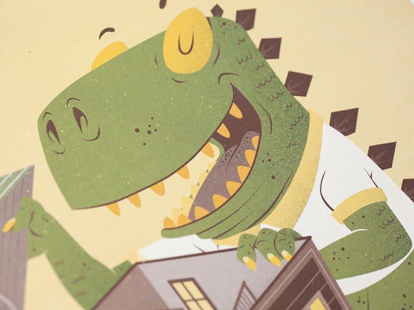 ¡Hay un Godzilla en mi barrio!  5
