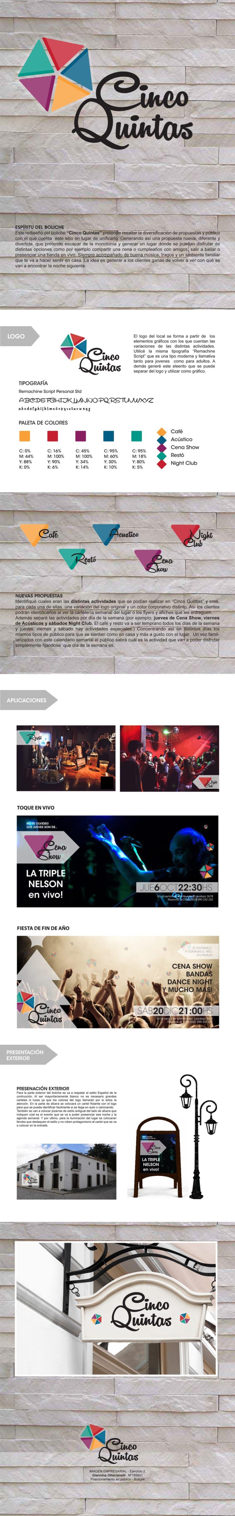 Proyecto CINCO QUINTAS - Imagen Empresarial -1