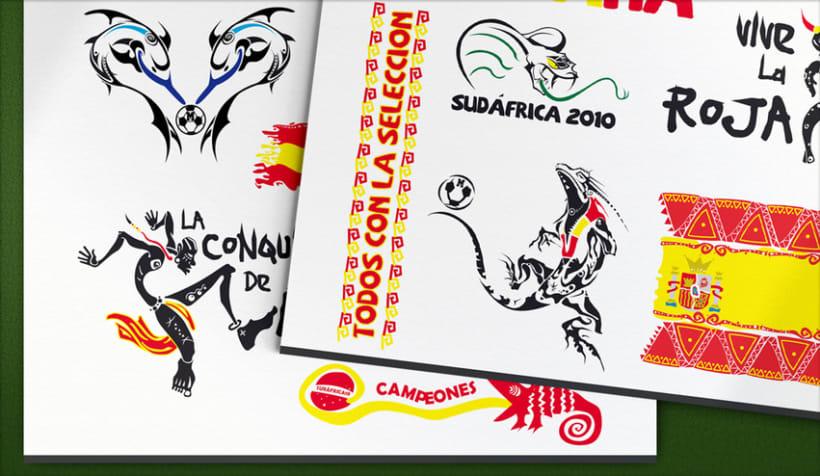 Marca · Tattoos Mundial de Fútbol 2010 2