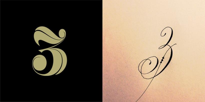 Lettering vs Calligraphy 2