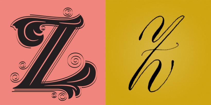 Lettering vs Calligraphy 3