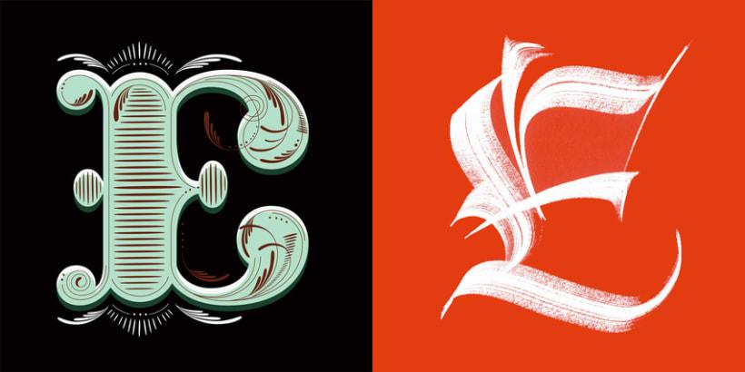 Lettering vs Calligraphy 5
