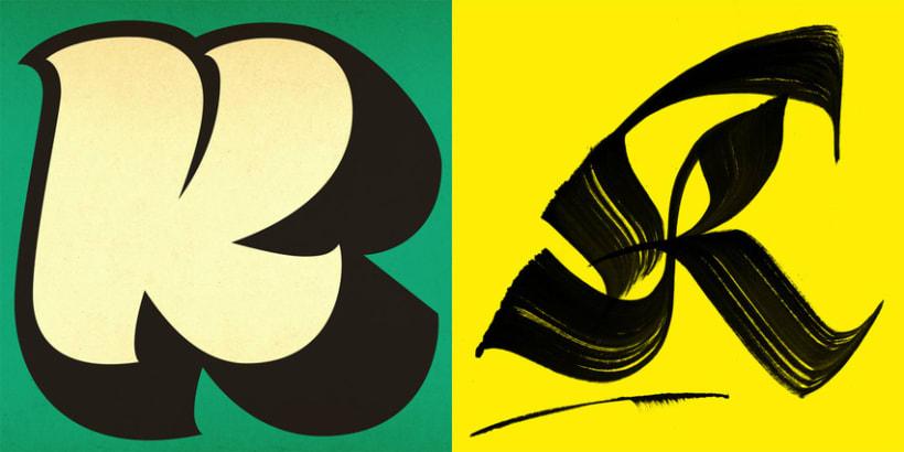 Lettering vs Calligraphy 7