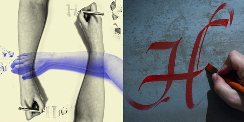 Lettering vs Calligraphy 11