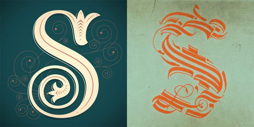Lettering vs Calligraphy 10