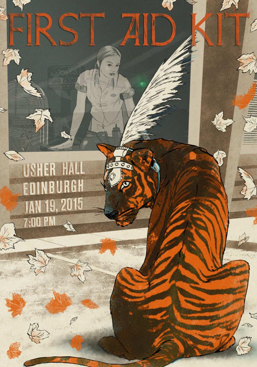Curso Ilustración para music lovers - First Aid Kit en Edimburgo 0