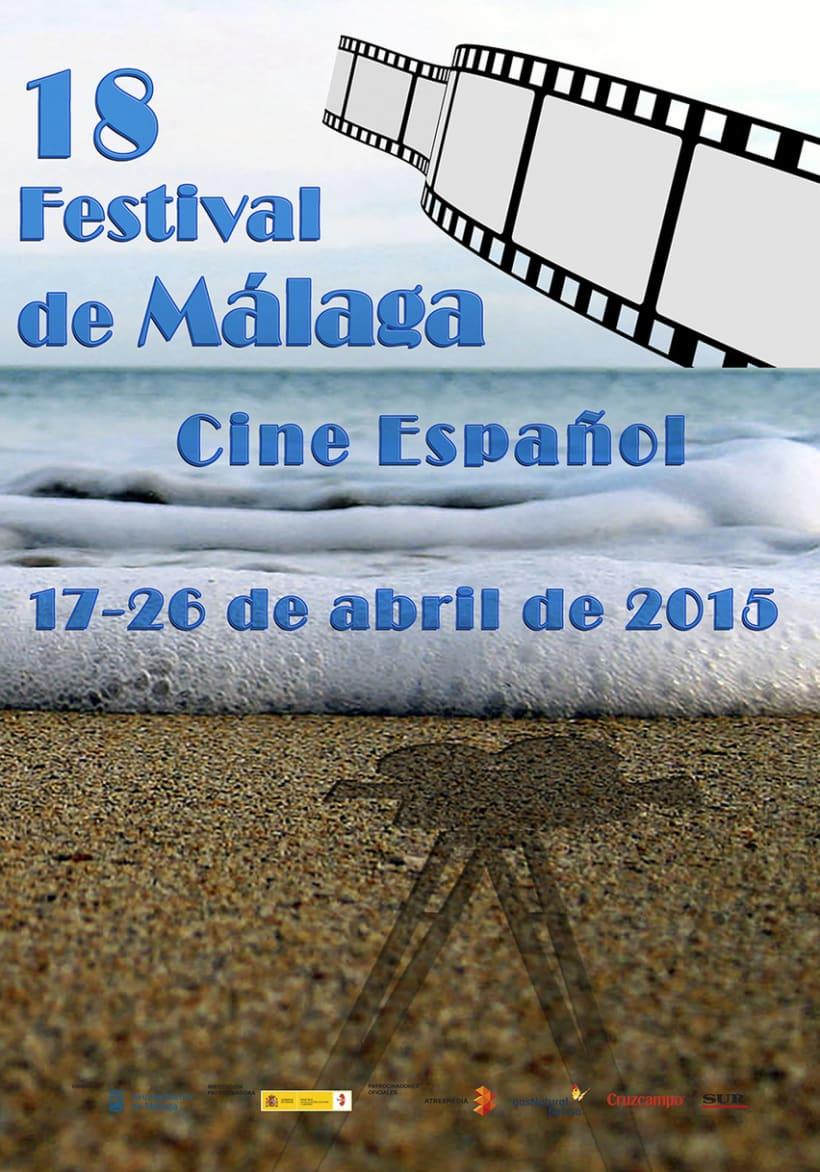 concurso de carteles Festival de cine español de Málaga 1