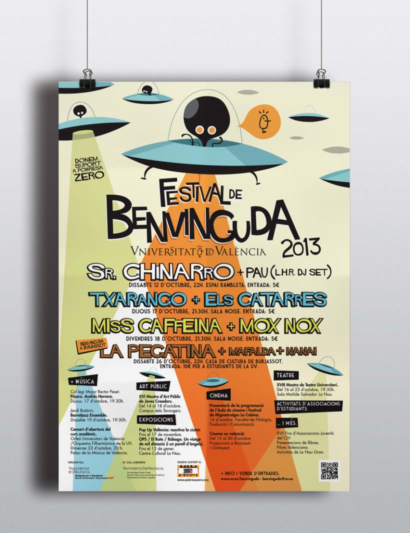 Festival Benvinguda 2013 (Universitat de València) 1