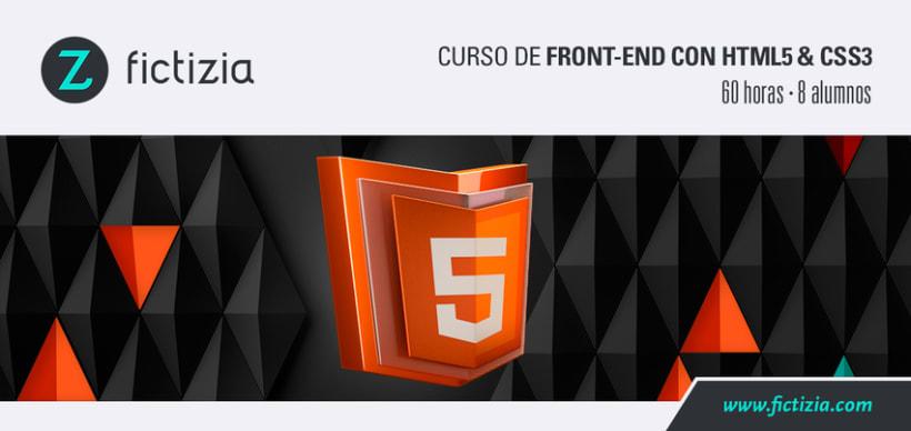 Nueva convocatoria del Curso de Front-end con HTML5 & CSS3 0